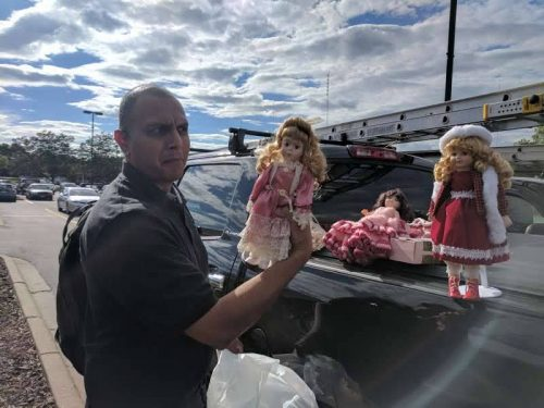 Milind loves dolls