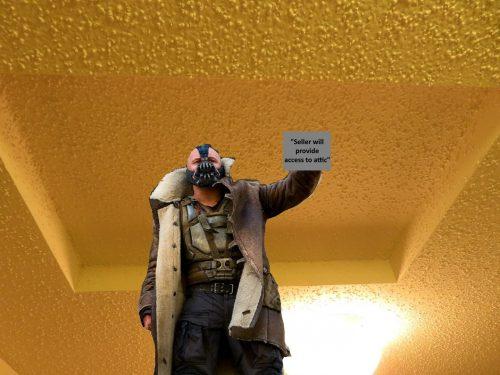 sealed attic access panel, Bane