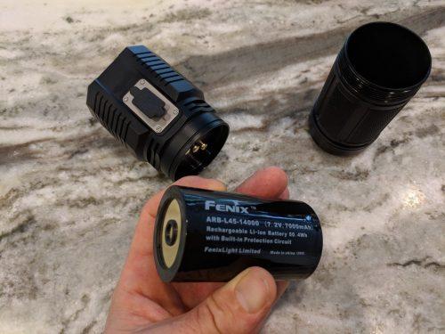 TK72R battery