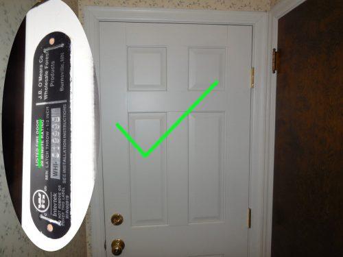 Six-Panel Fire-Door