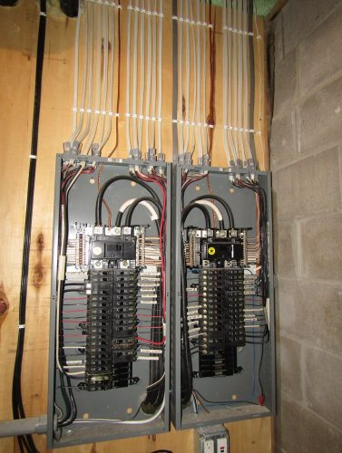 Neat electrical wiring