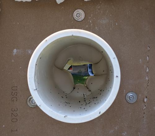 Pipe sealing shut