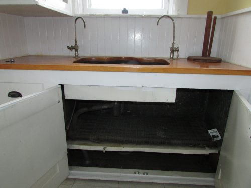 Drum trap in butler's pantry 3