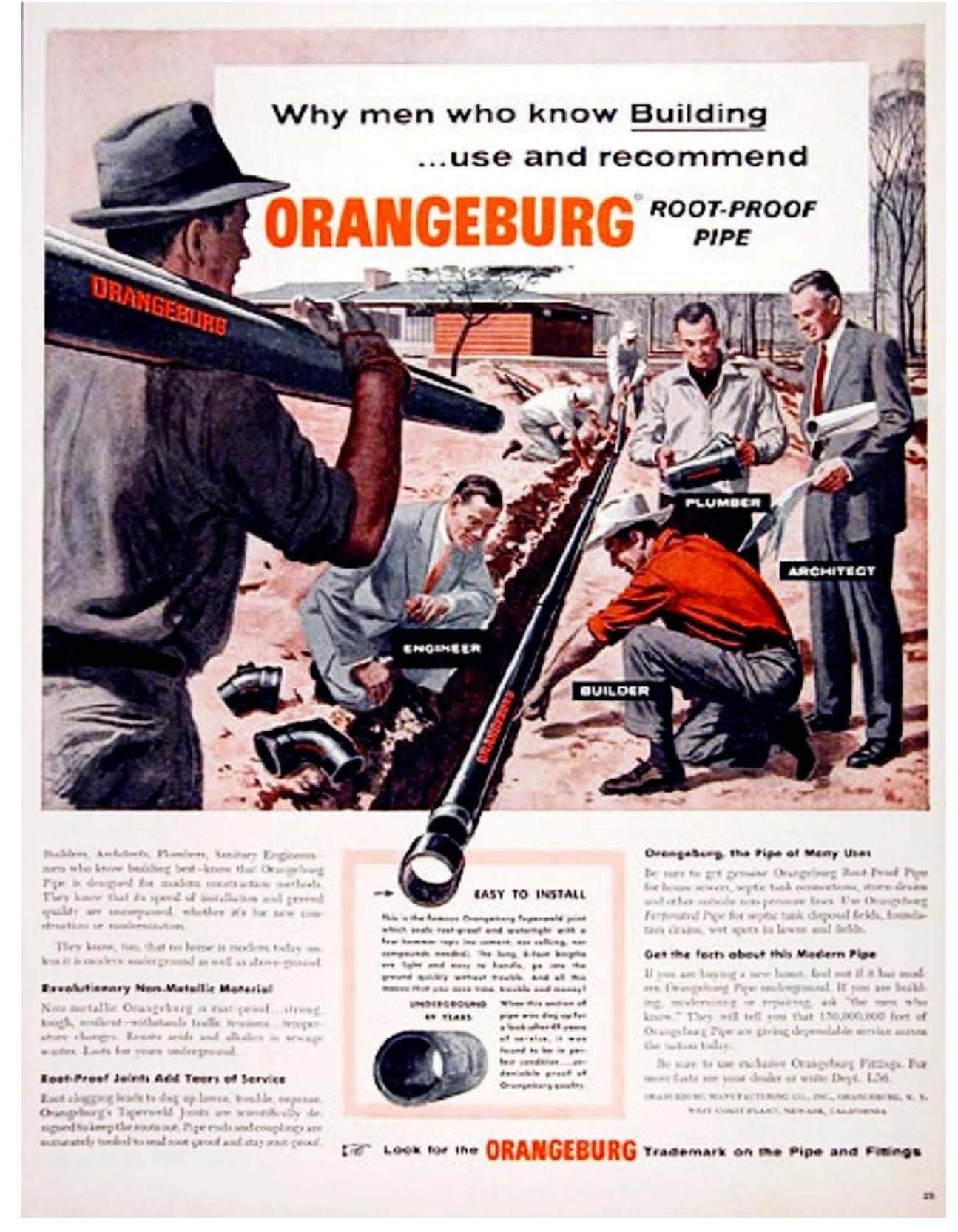 Orangeburg ad