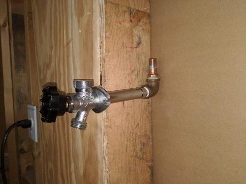 4-inch frost free faucet