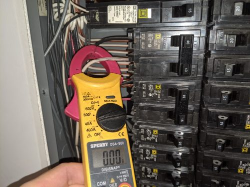 Clamp-on meter