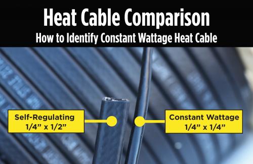 heat cable comparison