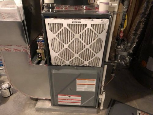furnace filter in wrong location