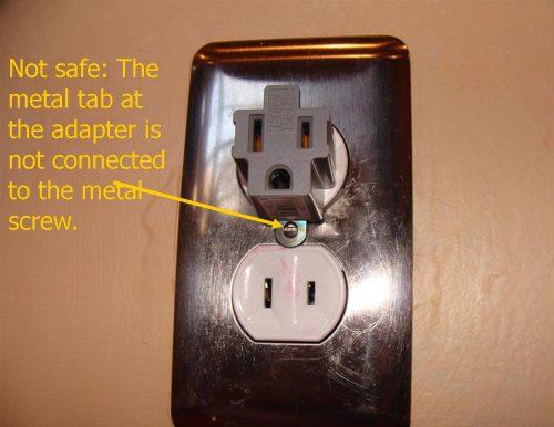 unsafe adapter use