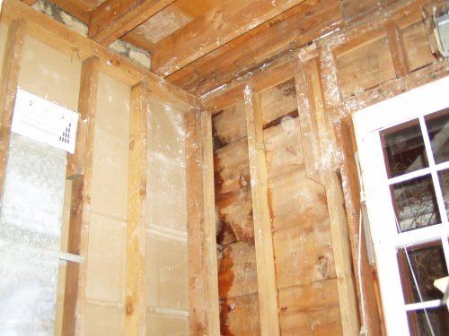 Reuben's bathroom gutted