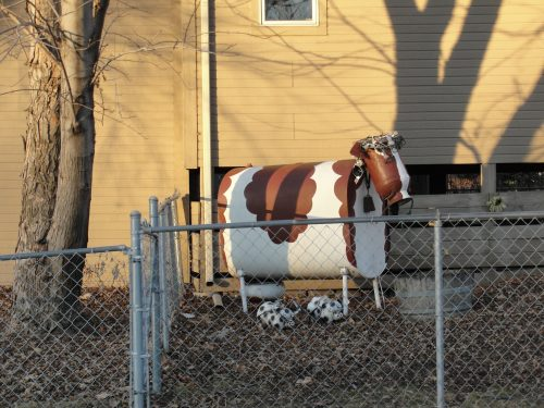 Fuel oil tank cow