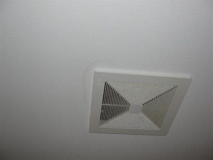 Ceiling Stain bath fan