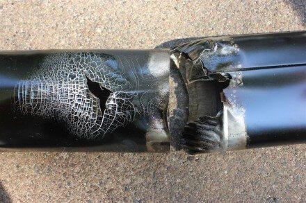 Aluminum Duct Burn Test