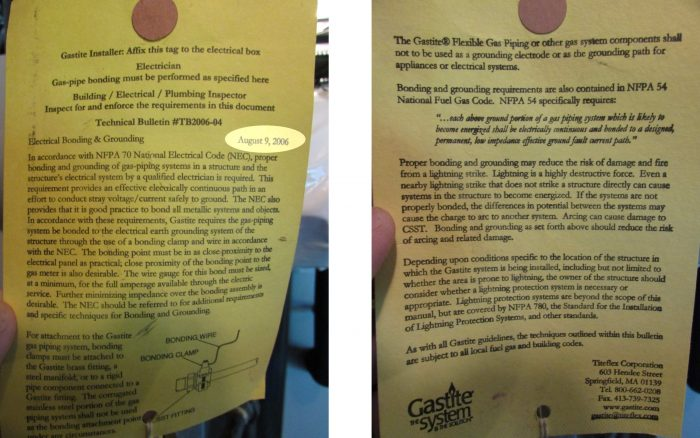 csst bonding notice from 2006