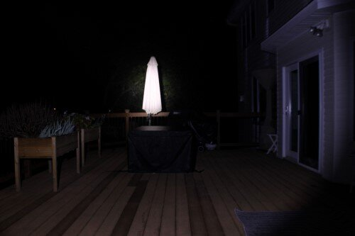 Generic CREE Headlamp outdoors short range.JPG