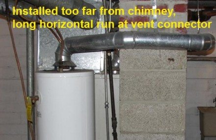 Long vent connector