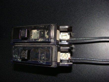 Two Circuit Breakers