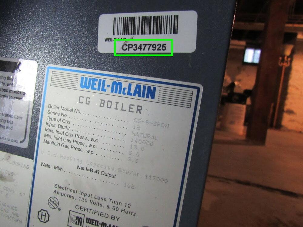 Weil McLain CP number2.JPG