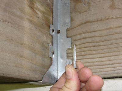 Decks - joist hanger nails