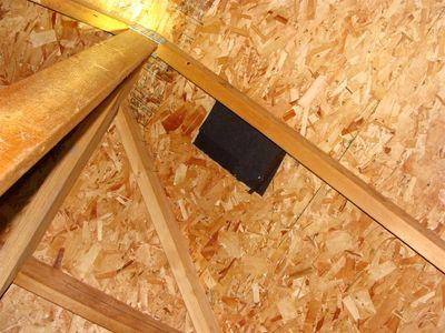 Attics - missing roof vent
