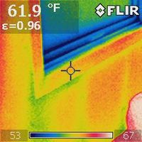 IR Image of bad window