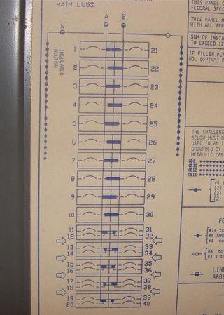 Panelboard diagram 4