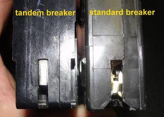 Tandem vs standard breaker 2