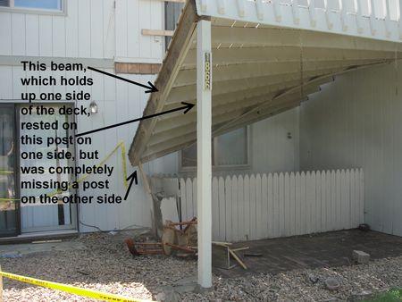 Coon Rapids Deck Collapse Explanation
