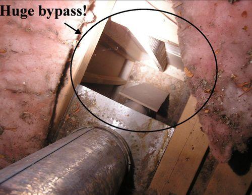 huge attic bypass