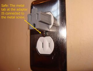 Safe Adapter Use