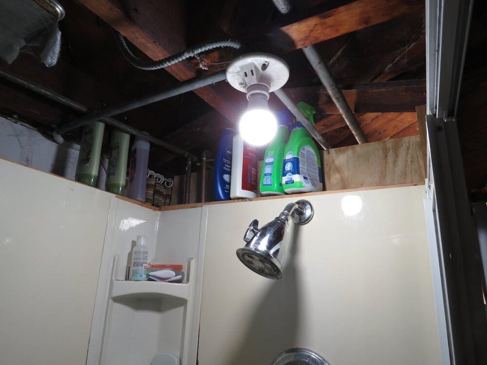 Not a bright idea.