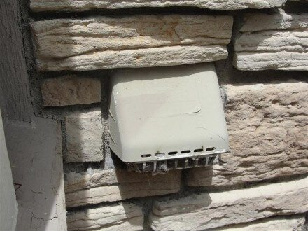 ACMV - dryer duct buried