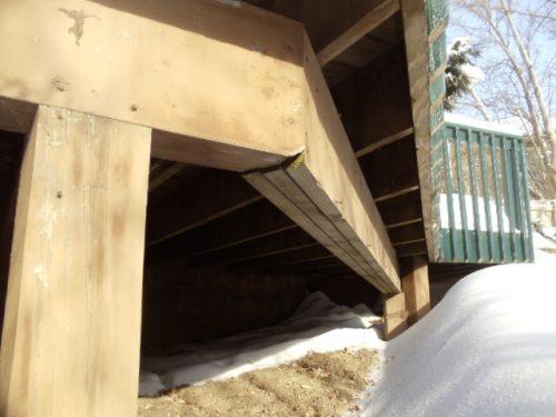 Deck Beam Spliced