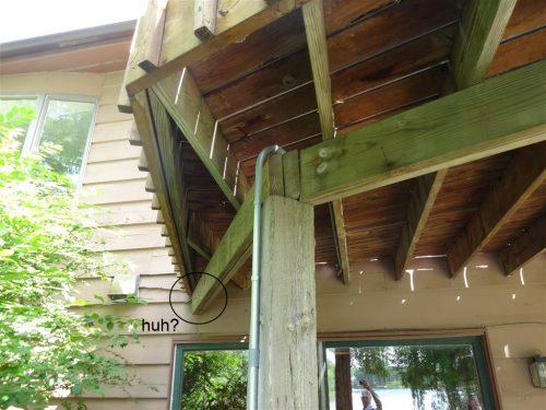 Deck defect