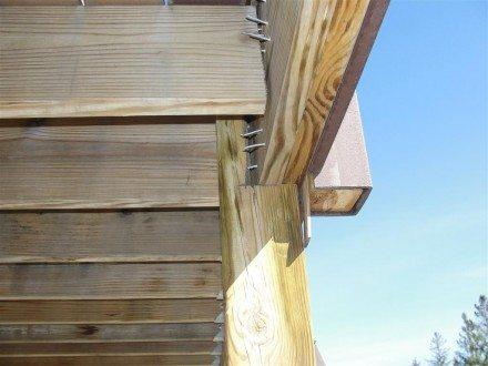 Decks - missing joist hanger