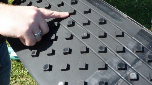 Dimpled mat 2
