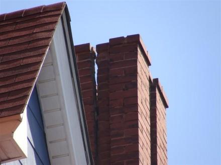 Cracked chimney