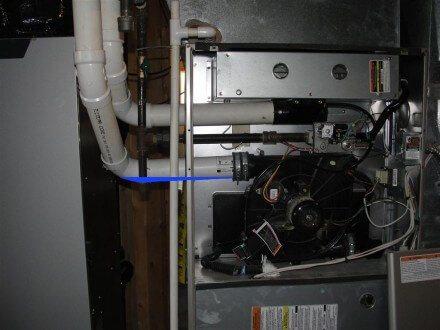 HVAC - backpitched furnace vent 2