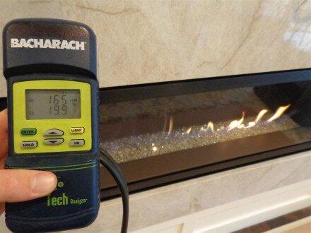HVAC - leaking gas fireplace 2