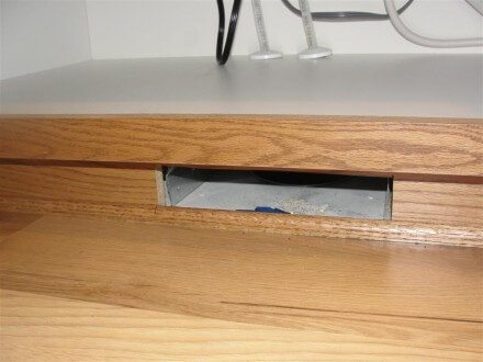 HVAC - missing register