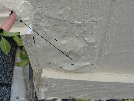 Hardboard siding rotted