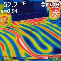 Heated Garage floor