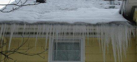 Ice Dam December 11, 2012