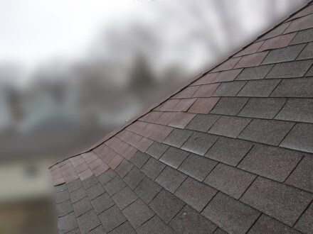 Mis-matched shingles