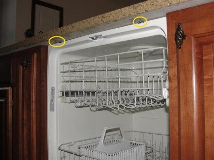 Plumbing - loose dishwasher