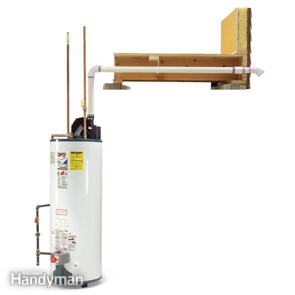 Powervent water heater