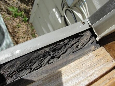 Rotted Aluminum Clad Windows