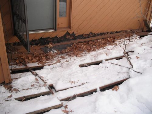 Rotted Deck