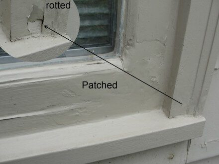 Rotted Windows
