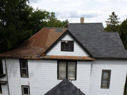 Worst roof ever